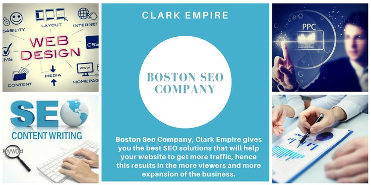 Need more traffic on your website? Nothing to worry Boston SEO Company, Clark Empire will help you in it.