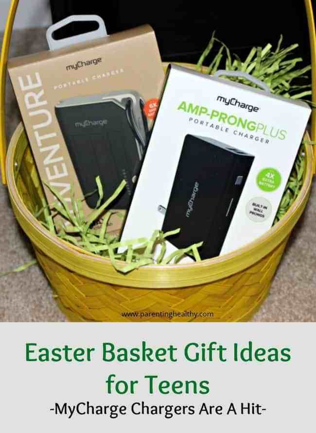 Easter basket gift ideas for teens mycharge chargers are a hit easter basket gift ideas for teens mycharge chargers are a hit basket gift easter baskets and easter negle Images