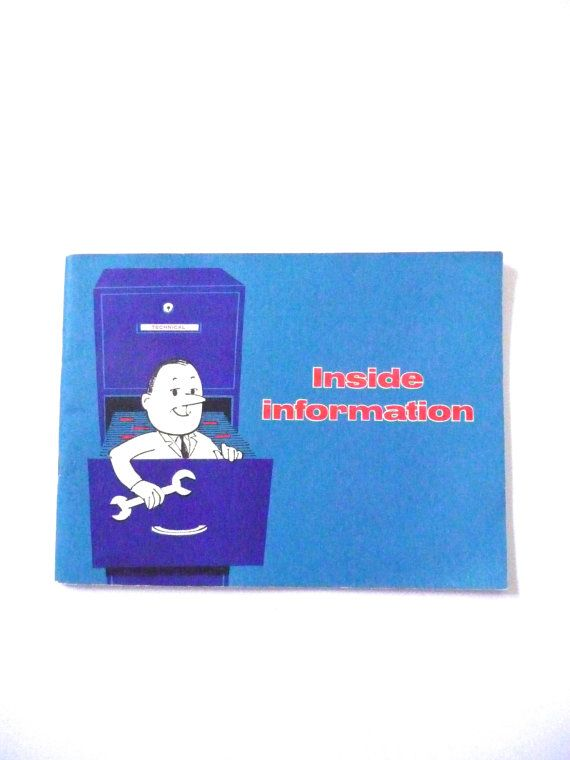 Retro Automobile Manual Inside Information Mobil Oil Australia