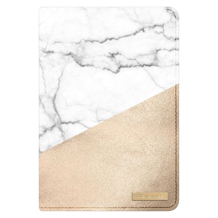 Dabney Lee iPad Mini Tablet Case - White/Gold Marble