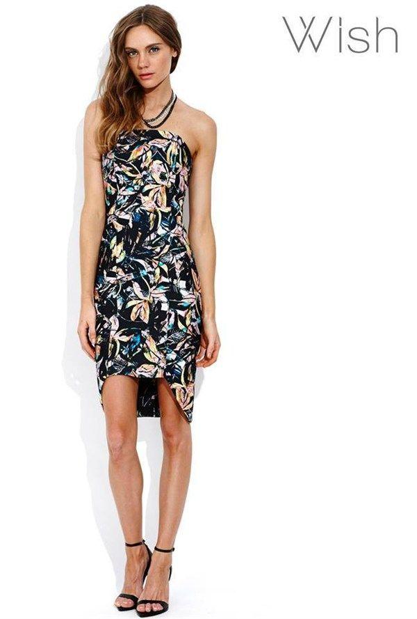 Mauritius Strapless Dress by Wish