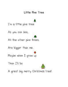 kindergarten Christmas poems | Christmas Poems - Darlene Johnson ...