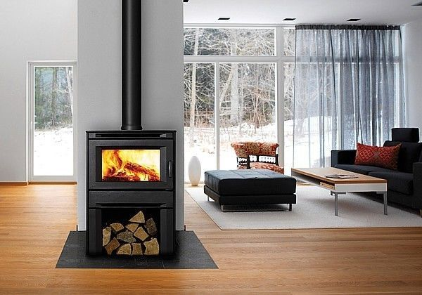 Alterra Freestanding Wood Heater, Solid Fuel Fireplaces
