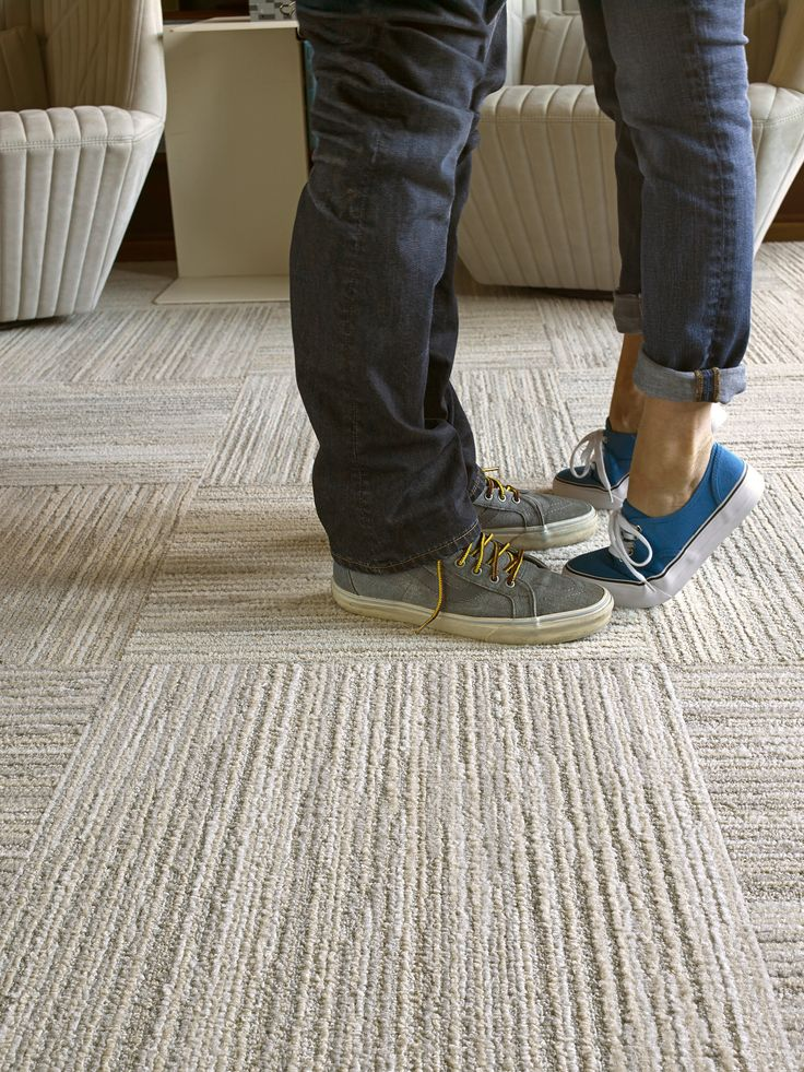 When the texture is this lush and comfy, It's no wonder everyone's falling in love with Fully Barked carpet squares.