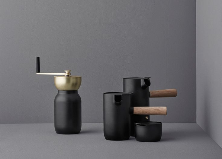 Italian design duo Something has created a coffee set for Danish brand Stelton that aims to reintroduce people to the brewing process