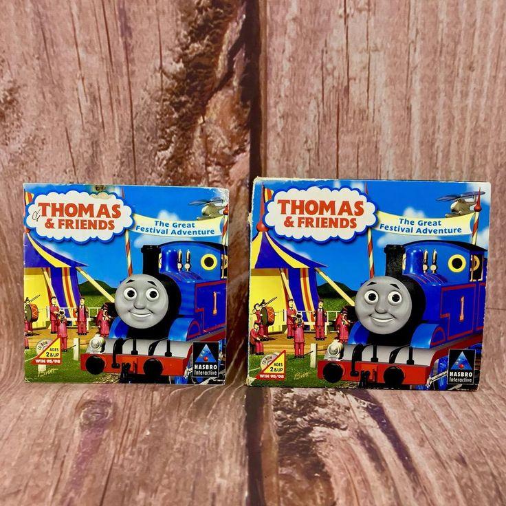 Thomas & Friends The Great Festival Adventure Cd rom win95/98 hasbro interactive