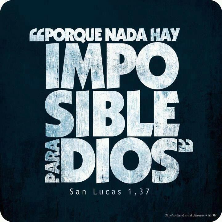 ¿Tus problemas te parecen demasiado grandes para Dios?... ¿Ya los pusiste en sus manos? ¿Ya pediste, ya le rogaste que te ayude? ¡Inténtalo seriamente! ¡Insiste con paciencia y verás!