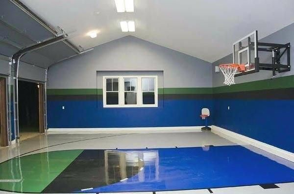Top Basketball Recruits Basketballhoopdeals Post 2002058439 Home Basketball Court House Basketball Court Backyard