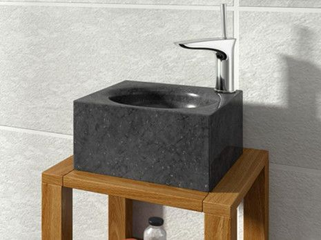 Versalles Bathco Negro umywalka kamienna nablatowa - 00355  http://www.hansloren.pl/Umywalki-kamienne/598