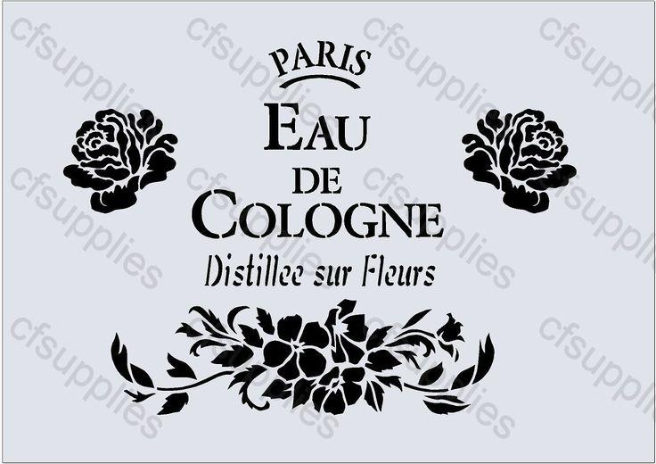 17 meilleures images propos de paris dessins pochoirs sur pinterest typographie shabby - Pochoir shabby chic ...
