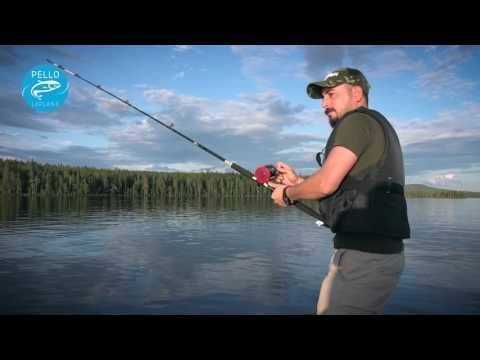 Fishing in Miekojärvi Lake in Pello in Lapland Finland - Arctic Circle Lake - zander & pike fishing - YouTube