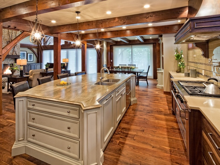 dupont corian countertops design   This absolutely stunning kitchen island is made of DuPont ...