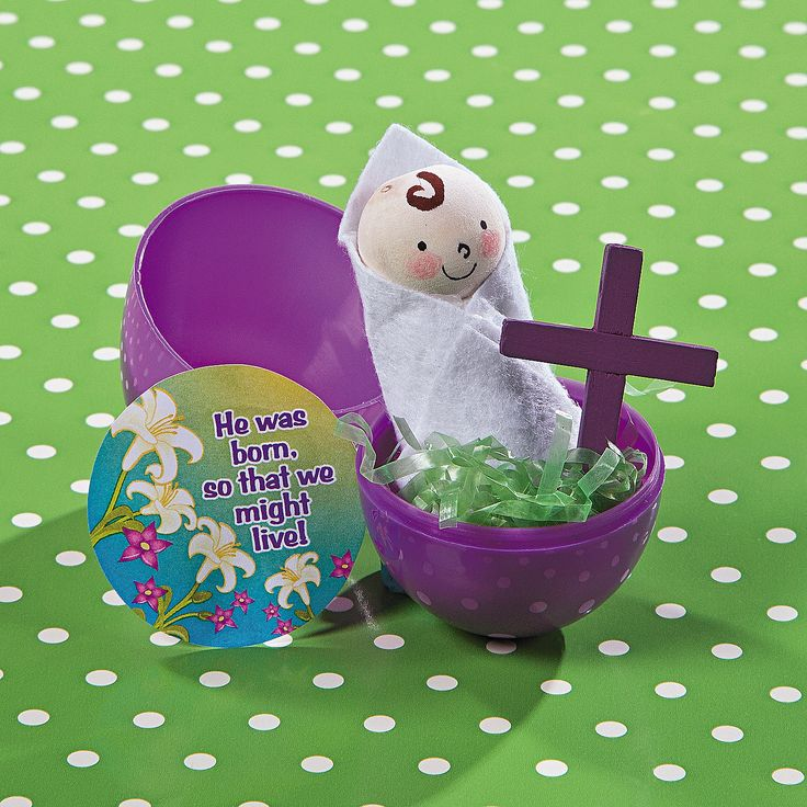 This religious Easter craft for kids is a fun, hands-on way for kids to learn about Jesus. #Easter #crafts #HeIsRisen