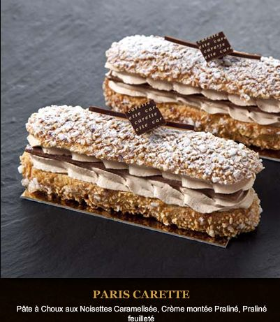 Carette- pate w hazelnut caramel praline filling