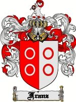 Franz Coat of Arms / Franz Family Crest  This French English, Catalan, Italian, German, Spanish and Dutch surname of FRANZ was from the medi...