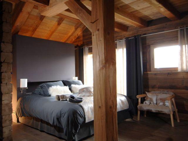17 beste idee n over chalet de luxe op pinterest berghut for Deco chambre parentale bois