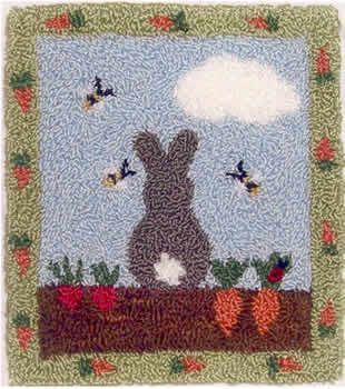 Bunny in My Garden from Pumpkin Moon Designs