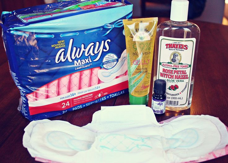 {DIY} Padsicles, the must-have postpartum item - In The Know Mom