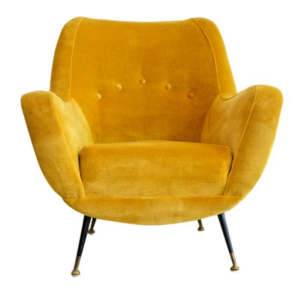 Best Fauteuil Salon Images On Pinterest Armchairs Couches And - Fauteuil design moutarde