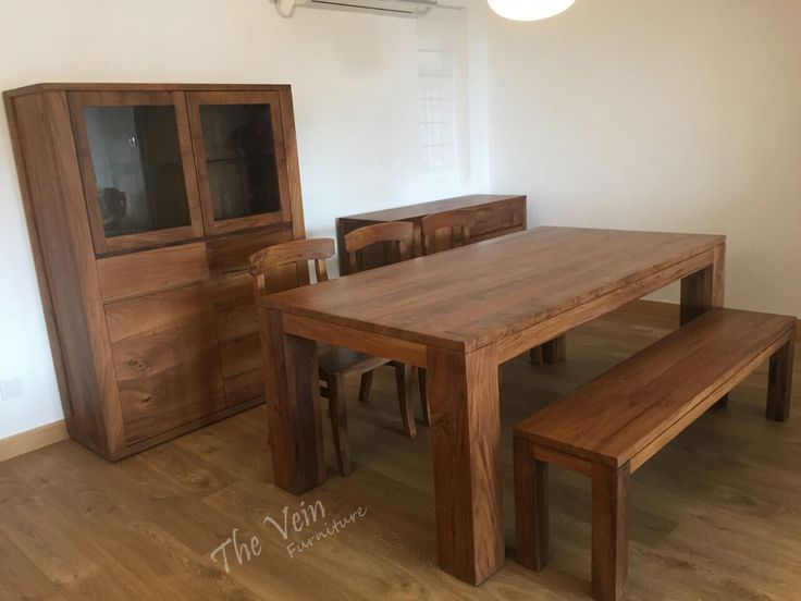 Awesome Solid Teak Wood Furniture Combination for Living Room in Hong Kong  Facebook: https://www.facebook.com/theveinfurniture