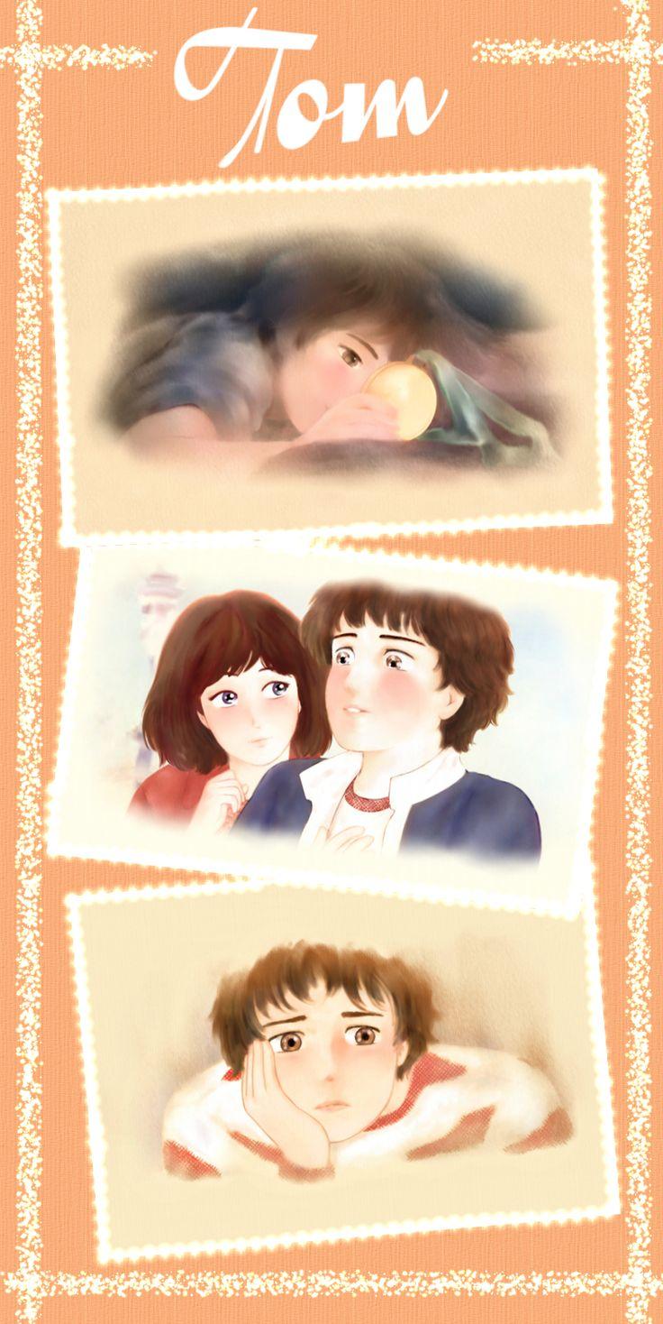 """""""Tom"""": illustrazioni per il romanzo per ragazzi """"Vivere a Venezia"""", di Laura M. Cecilia Ferro. #illustrazioni, #manga, #cartoon"""