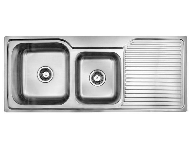 $352 reece Posh   Solus MKII   1200 Inset Kitchen Sink