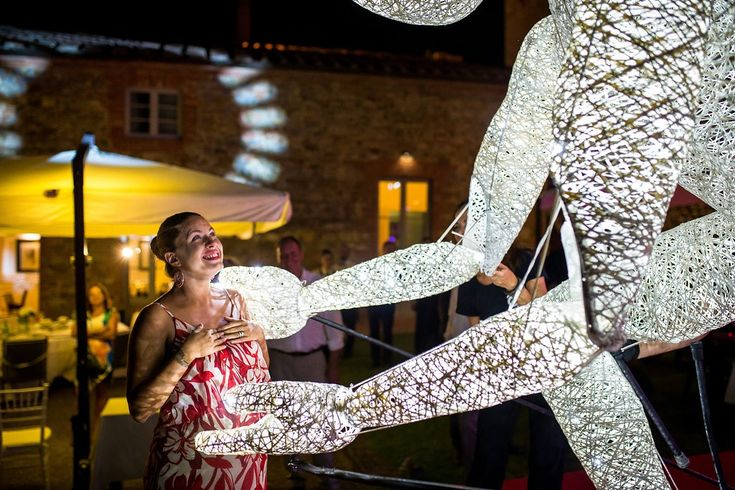 Magical moments in Tuscany with great performance artists