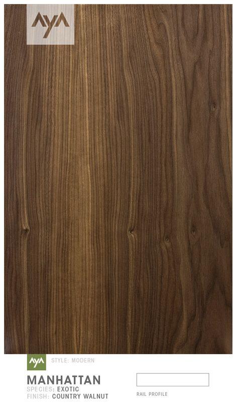 AyA Kitchens - Manhattan Country Walnut Door
