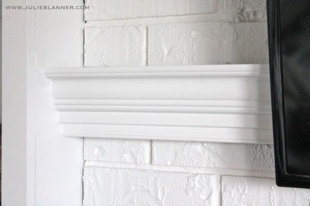 1000 Ideas About Diy Mantel On Pinterest Faux Fireplace