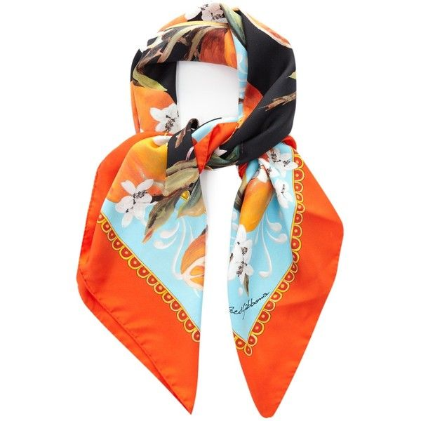 Silk Square Scarf - Geometrical pattern by VIDA VIDA slkLnAmy