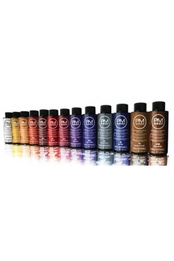Paul Mitchell PM Shines= Demi-permanent haircolor. Leaves your hair shiny and doesn't damage like traditional hair color.
