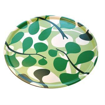 Bönan tray - green - Sofie Sjöström Design