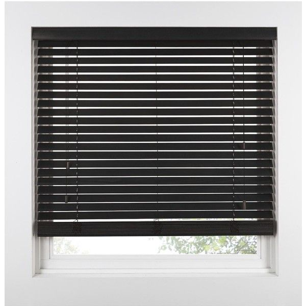Made To Measure 50 Mm Wooden Venetian Blinds 52 Liked On Polyvore Featuring