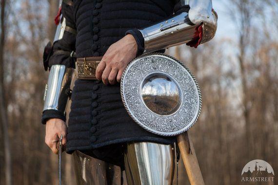 Viking Medieval Shield; Medieval Fighting Buckler