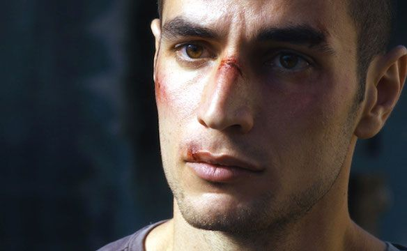 Adam Bakri in Omar (2013) || his eyes though... <3
