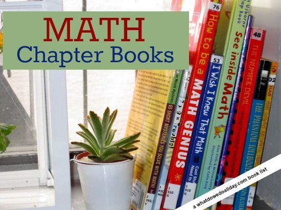 Here's an annotated bibliography of 10 math chapter books for kids.
