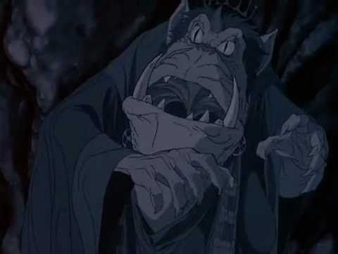 the Hobbit 1977 Cartoon: Bilbo finds the ring in Gollum's cave - YouTube