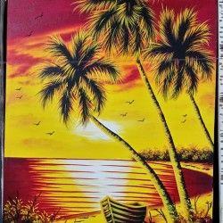 Sunset in Trinidad! Vacker solnedgång målning från Trinidad, Kuba. De vackra färgerna ger hemmet, förutom en snygg touch, även en harmonisk känsla värt att sträva efter!  Länk till produkt: http://www.feelhome.se/produkt/sunset-in-trinidad/  #Homedecoration #Canvas #olipainting #art #interior #design #Painting #handpainted #Walldecor #väggdekor #interiordesign #canvastavla #canvastavlor #sunset #kuba #cuba #Trinidad #strand #Natur #solnedgång #hav #Vardagsrum #Kontor