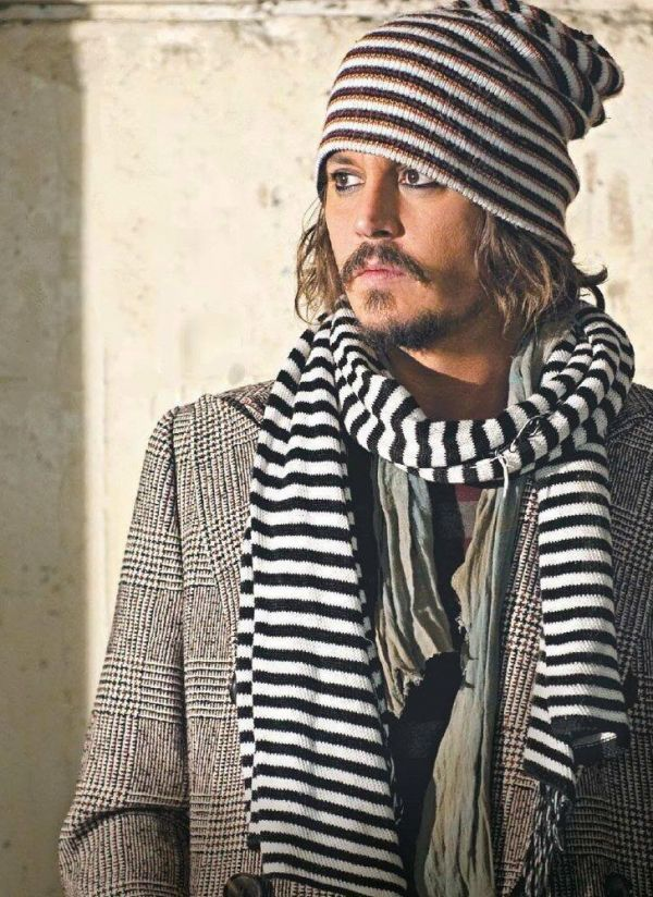 Striped pirate.This Man, Johnny Depp, But, Long Hair, Winter Fashion, Stripes, Johnnydepp, People,  Piano Accordion