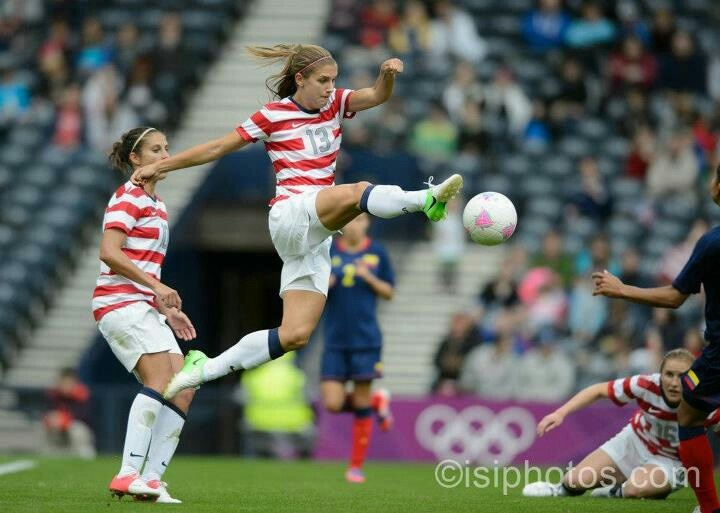 :) Alex Morgan # 13! She is one of my biggest soccer inspirations!