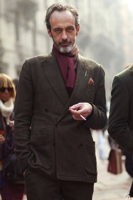 Grey Fox: Cool and rumpled is the way to go - middle age style for men