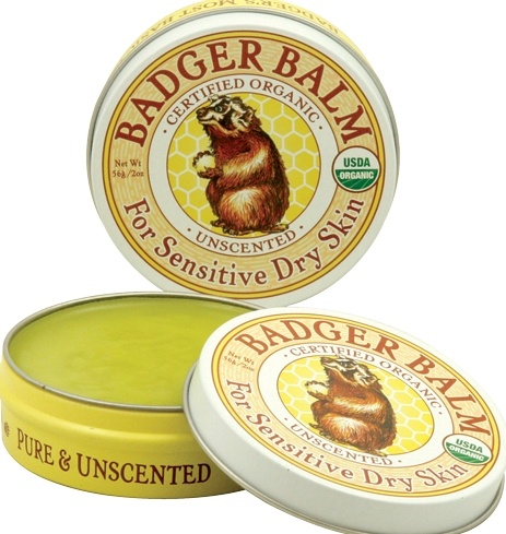 Badger Balm Unscented for Sensitive Dry Skin - Organic. Available @ Well.ca #fragrancefree #unscented #lanolinfree *Subtle smell of olive oil