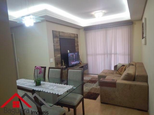 Lindo apartamento de 54m2 no Residencial Excellence em  ~ Quarto Planejado Jundiai