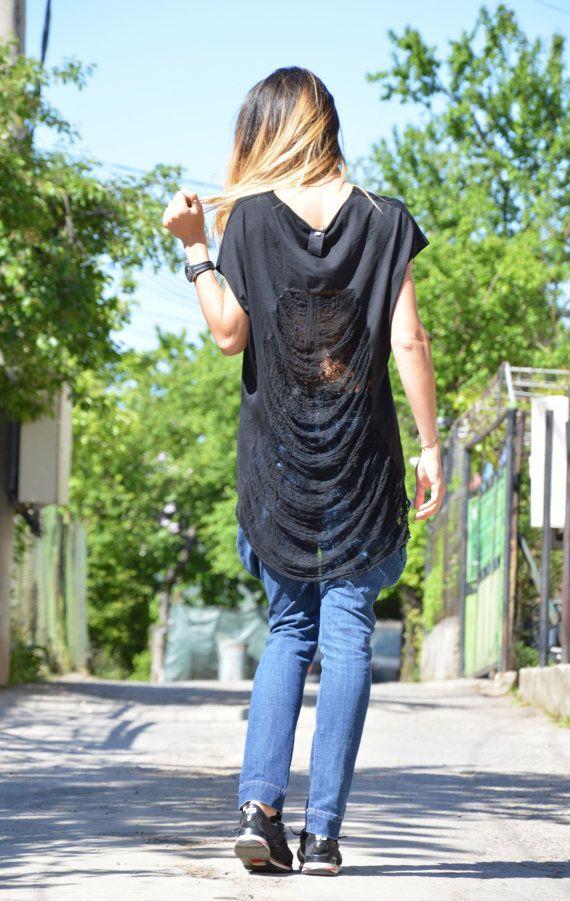 Women's Losse Top Oversize Cotton Women's Clothing