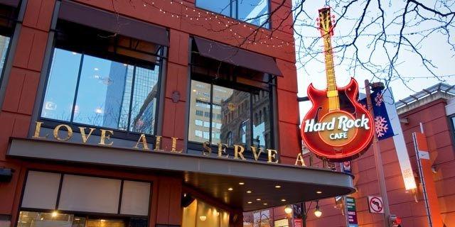 Indianapolis Hard Rock Cafe Menu