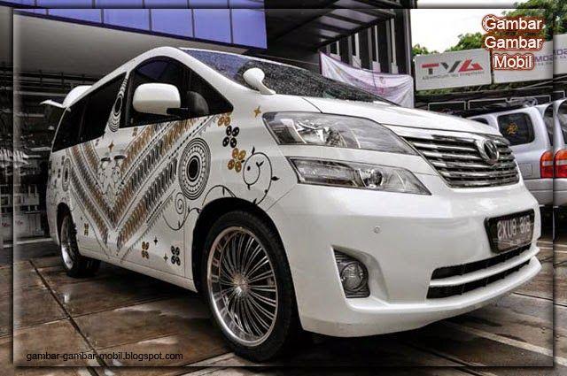Gambar Mobil Toyota Alphard Modifikasi Terbaru