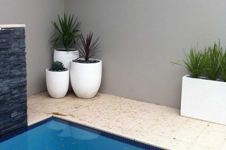 Simple+grouping+of+planters+softens+a+paved+pool