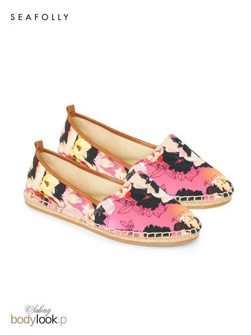 Wygodne buty typu espadryle to najnowsza propozycja australijskiej marki Seafolly z kolekcji 2015.