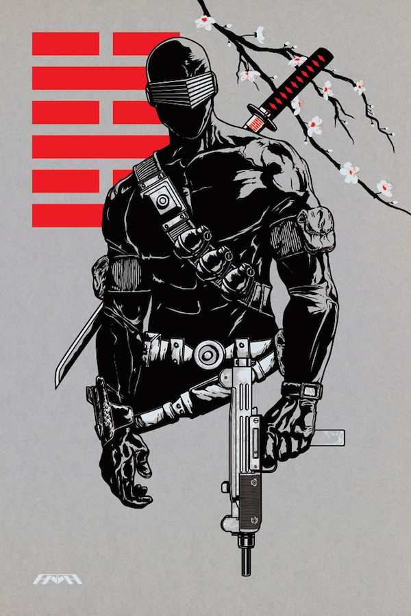 Snake-Eyes - G.I. Joe - artist?