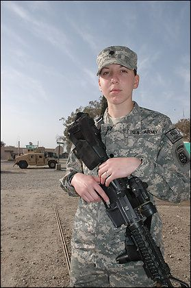Army Spec. Monica Brown~ was an 18 yr. old medic in Afgahnastan when she earned the  Silver Star for repeatedly risking her life on April 25, 2007, to shield and treat her wounded comrades & displaying bravery and grit. She is the second woman since World War II to receive the nation's third-highest combat medal.